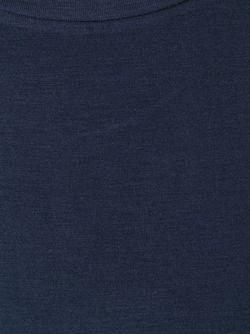 Футболка С Круглым Вырезом MAJESTIC FILATURES                                                                                                              синий цвет