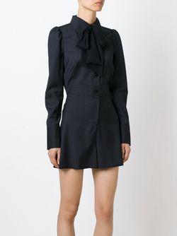 Платье С Бантом Maison Margiela                                                                                                              чёрный цвет