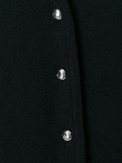 Кардиган С V-Образным Вырезом ARMANI JEANS                                                                                                              чёрный цвет