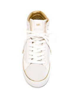 Хайтопы С Панельным Дизайном Michael Michael Kors                                                                                                              белый цвет