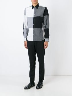 Рубашка В Клетку Paul Smith                                                                                                              черный цвет