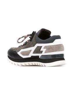 Кроссовки С Панельным Дизайном Les Hommes                                                                                                              серый цвет