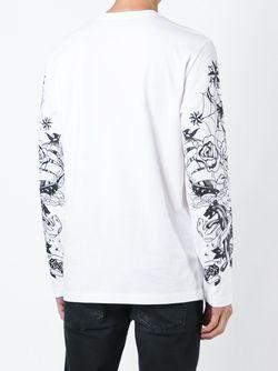 Кофта С Длинными Рукавами Love Moschino                                                                                                              белый цвет