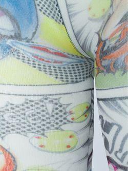 Колготки С Принтом Комиксов Tsumori Chisato                                                                                                              многоцветный цвет
