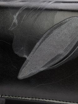 Кошелек С Цветочным Принтом Yohji Yamamoto                                                                                                              черный цвет