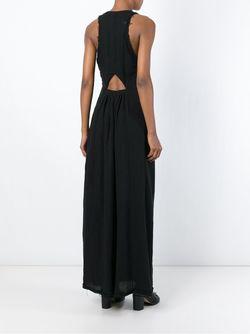 Длтинное Платье Без Рукавов KITX                                                                                                              черный цвет