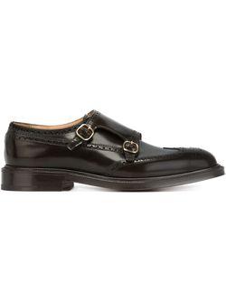 Туфли-Броги С Ремешками На Пряжках Church'S                                                                                                              коричневый цвет