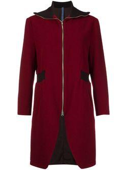Пальто На Молнии NOCTURNE 22                                                                                                              красный цвет