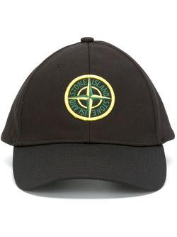 Бейсбольная Кепка С Логотипом Stone Island                                                                                                              чёрный цвет