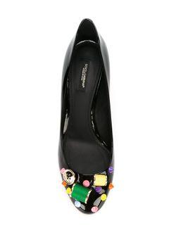 Декорированные Лодочки Dolce & Gabbana                                                                                                              черный цвет