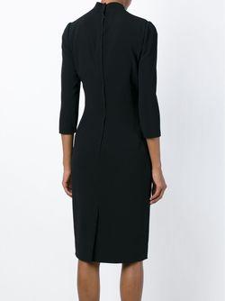 Облегающее Платье Миди Dolce & Gabbana                                                                                                              чёрный цвет