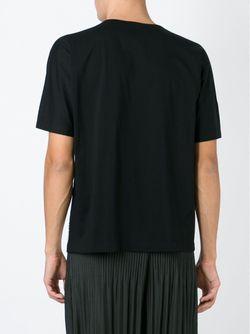Футболка С Принтом Issey Miyake                                                                                                              черный цвет