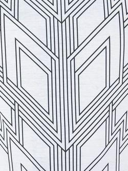 Футболка С Геометрическим Принтом Les Hommes                                                                                                              белый цвет
