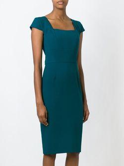 Платье Jeddler Roland Mouret                                                                                                              синий цвет