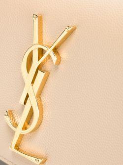 Сумка Через Плечо Monogram Saint Laurent                                                                                                              Nude & Neutrals цвет