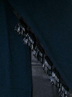 Свитер С Круглым Вырезом Dorothee Schumacher                                                                                                              синий цвет