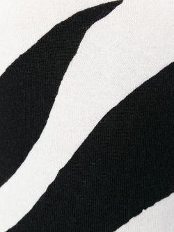 Свитер С Зебровым Принтом BOUTIQUE MOSCHINO                                                                                                              чёрный цвет