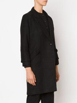 Однобортное Пальто SONG FOR THE MUTE                                                                                                              черный цвет