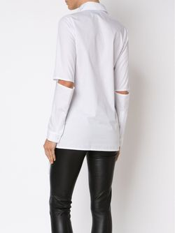 Asymmetric Cut-Out Shirt Barbara I Gongini                                                                                                              белый цвет