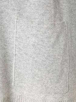 Удлиненный Свитер С Отворотной Горловиной Proenza Schouler                                                                                                              серый цвет