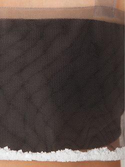 Многослойный Укороченный Топ В Сетку PHOEBE ENGLISH                                                                                                              серый цвет