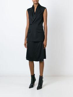 Платье-Жилет Maison Margiela                                                                                                              черный цвет