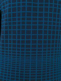 Свитер В Клетку John Smedley                                                                                                              синий цвет