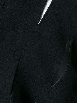 Накидка С Прорезными Деталями JUNYA WATANABE COMME DES GARCONS                                                                                                              черный цвет