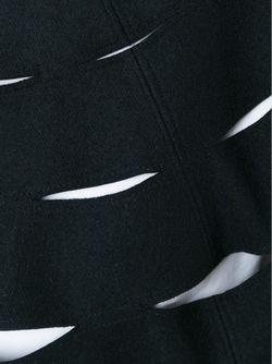 Пончо С Прорезными Деталями JUNYA WATANABE COMME DES GARCONS                                                                                                              черный цвет