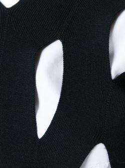 Свитер С Прорезными Деталями JUNYA WATANABE COMME DES GARCONS                                                                                                              чёрный цвет