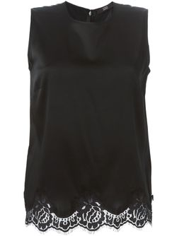 Блузка С Кружевным Подолом Steffen Schraut                                                                                                              чёрный цвет