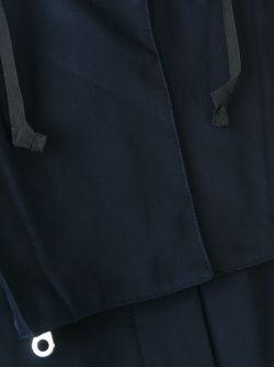 Парка С Капюшоном Folk                                                                                                              синий цвет