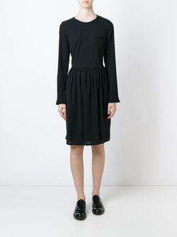 Гофрированное Платье Chinti And Parker                                                                                                              черный цвет