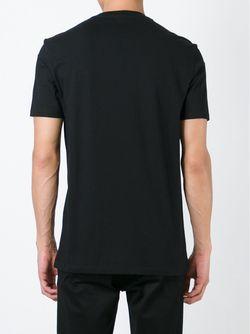 Футболка С Вышитым Черепом Markus Lupfer                                                                                                              чёрный цвет
