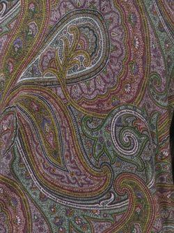 Свитер С Принтом Пейсли Etro                                                                                                              зелёный цвет