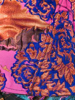 Топ-Корсет С Цветочным Узором Marques Almeida                                                                                                              синий цвет