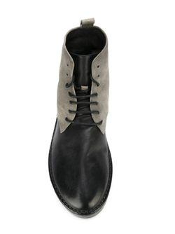 Ботинкни С Панельным Дизайном Marsell                                                                                                              черный цвет