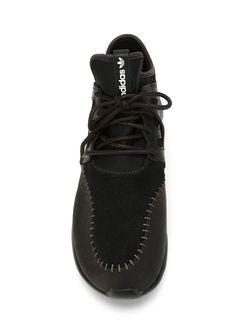 Кроссовки Tubular Moc Runner adidas Originals                                                                                                              чёрный цвет