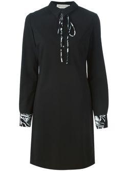 Платье С Длинными Рукавами Emilio Pucci                                                                                                              черный цвет