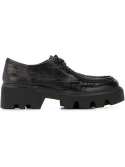 Туфли На Массивной Подошве Ash                                                                                                              чёрный цвет