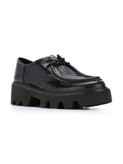 Туфли На Массивной Подошве Ash                                                                                                              черный цвет