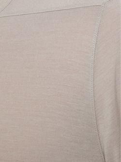 Футболка С Круглым Вырезом Rick Owens                                                                                                              Nude & Neutrals цвет