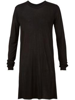Кофта С Длинными Рукавами Rick Owens                                                                                                              черный цвет
