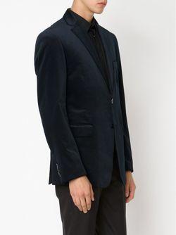 Пиджак В Мелкий Горошек Etro                                                                                                              синий цвет