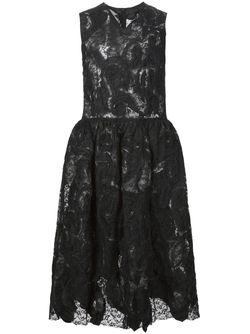 Кружевное Платье С Расклешенной Юбкой COMME DES GARCONS COMME DES GARCONS                                                                                                              чёрный цвет