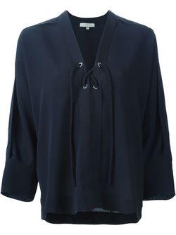 Блузка Alis Iro                                                                                                              синий цвет