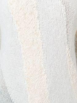 Двухцветный Свитер 3.1 Phillip Lim                                                                                                              белый цвет