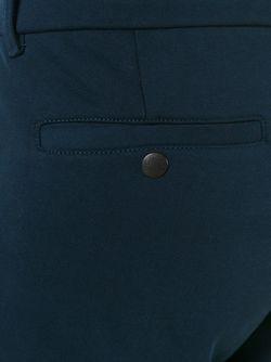 Зауженные Спортивные Брюки Moncler                                                                                                              синий цвет