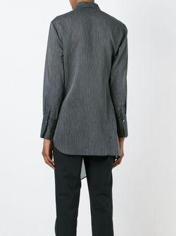 Рубашка Асимметричного Кроя 3.1 Phillip Lim                                                                                                              черный цвет
