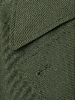 Двубортное Пальто Alexander Wang                                                                                                              зелёный цвет